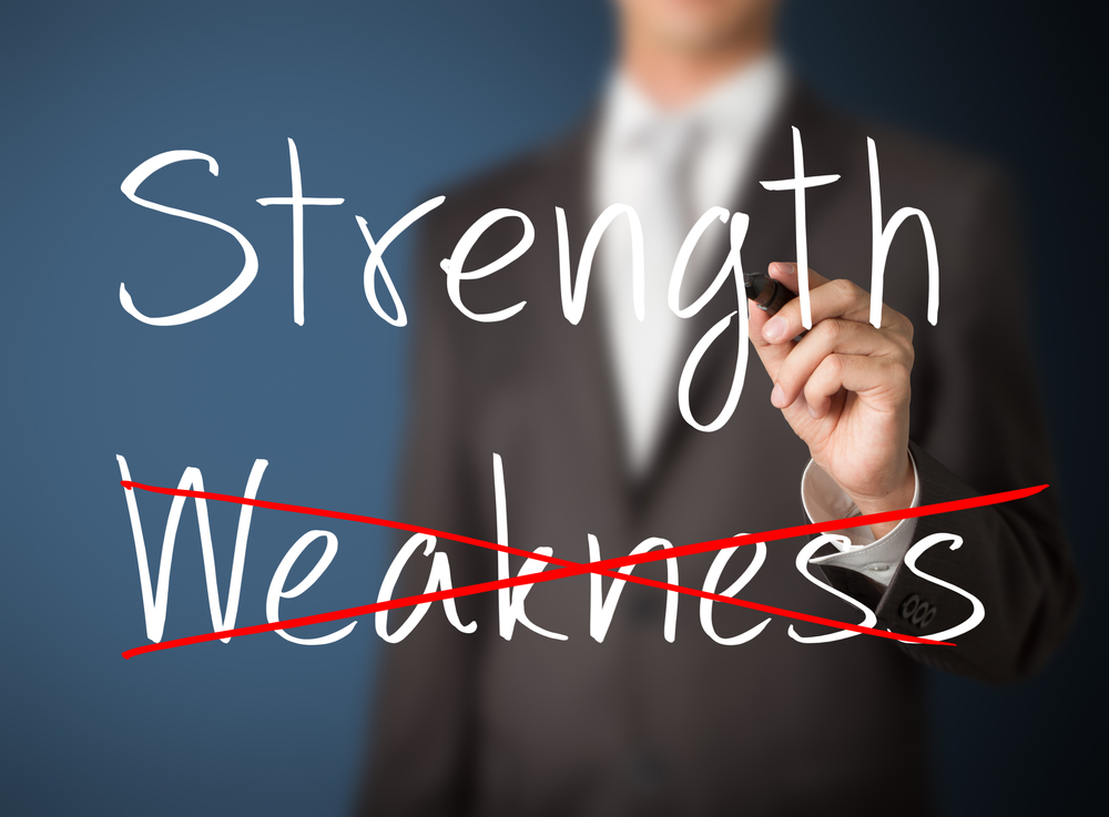 strength and weaknes Strength #1- power of the words: you can raise a nation with words, you can bring peace and save millions you can inspire people, motivate them and ignite a fire inside them strength #2.